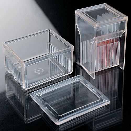 Емкости полиметилпентеновые для окрашивания предметного стекла