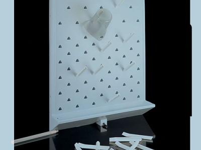 Доска настенная для сушки лабораторной посуды