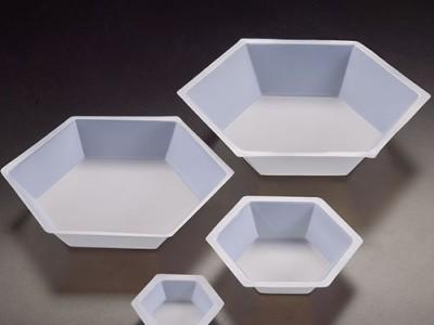 Чашки для зважування шестигранні