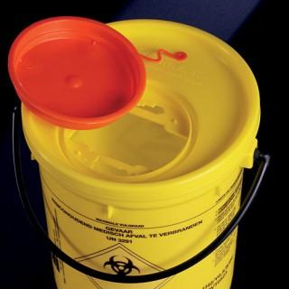 Контейнери для утилізації медичних відходів