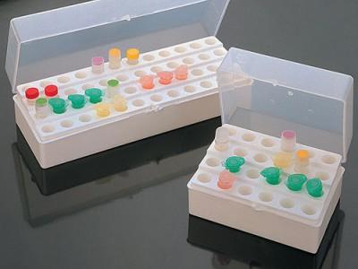 Штативи поліпропиленові для зберігання мікропробірок