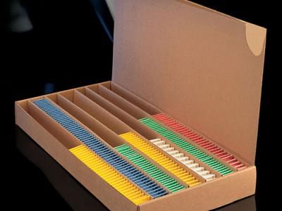 Бокс картонний для зберігання гістологічних касет
