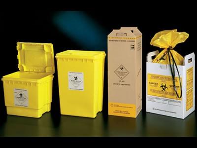 Контейнери для збору медичних відходів