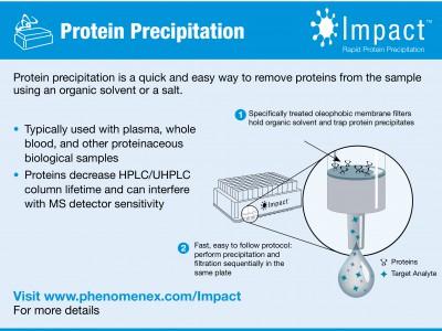 Impact: Осадження білків